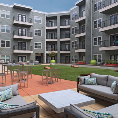 The District Lofts, Gaming Lawn