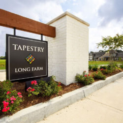 Tapestry Long Farm, sign